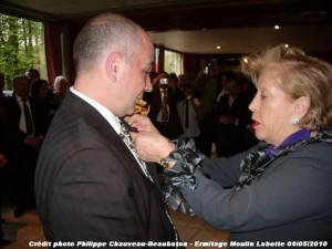 la-presidente-bierer-et-frederic-pierangeli-300x225 Ermitage Moulin Labotte dans La Presse en parle